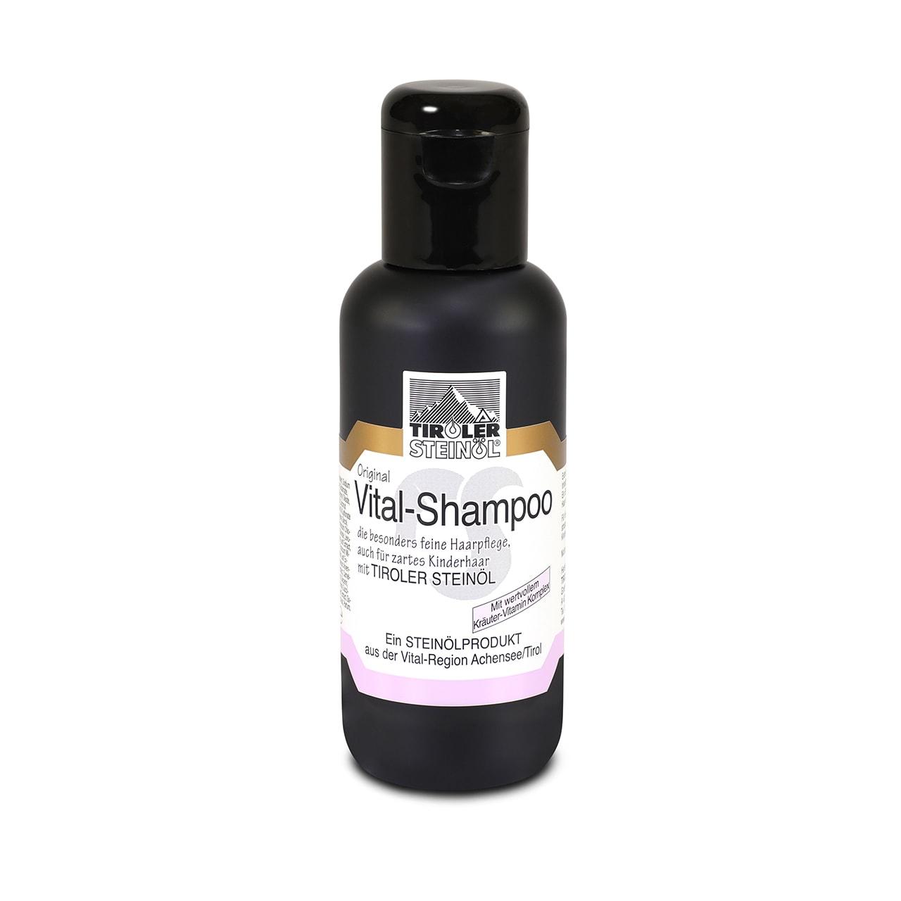 Neu: Vital-Shampoo mit Tiroler Steinöl