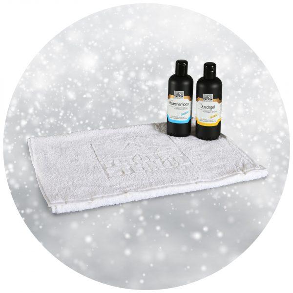 Handtuch mit H2D2 Winter