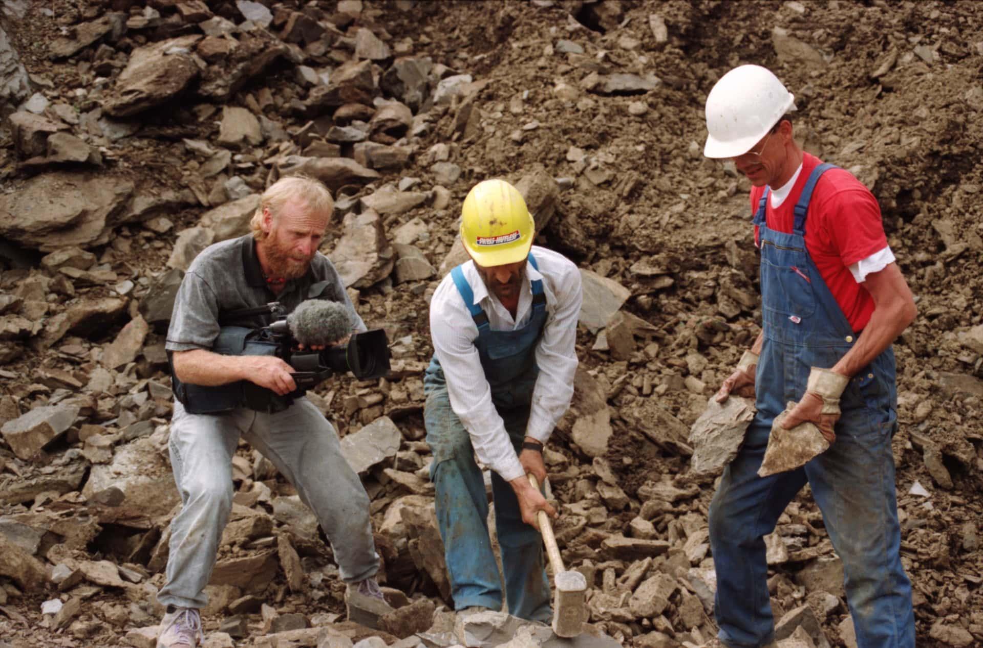 Tiroler Steinöl – ein Medienstar