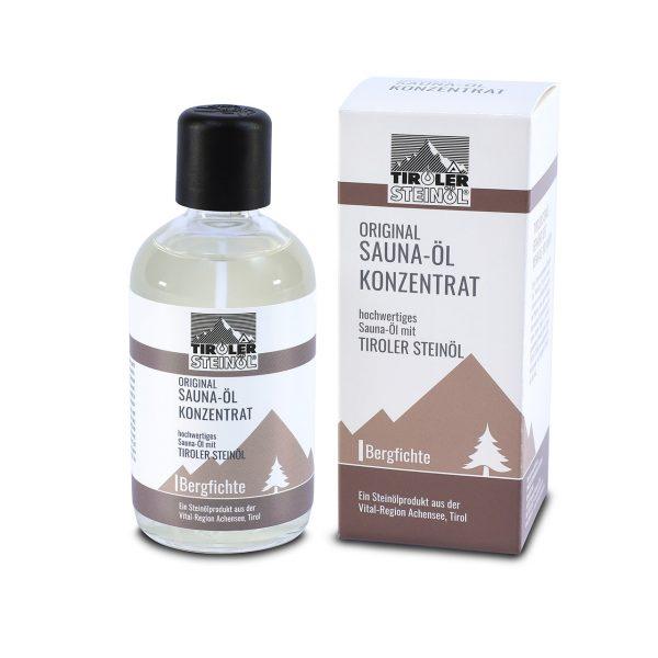 Saunaöl-Konzentrat Bergfichte mit Karton